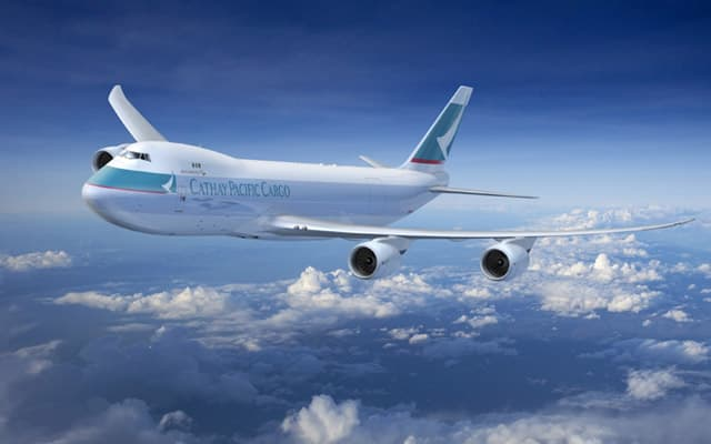 Boeing 747 8 Freighter cathay pacific cargo