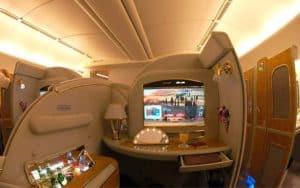 Boeing 777-300ER first class