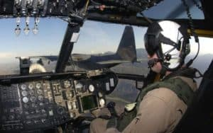 Lockheed Martin C-130J Super Hercules flight deck cockpit