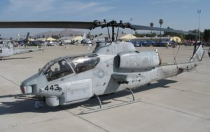 Bell AH-1Z Viper in rest