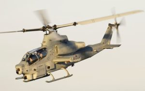 Bell AH-1Z Viper flying