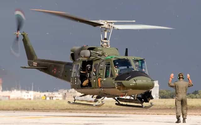 Bell UH-1H Huey Landing