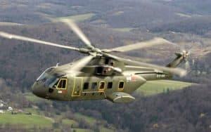 Agusta Westland AW101 Merlin flying