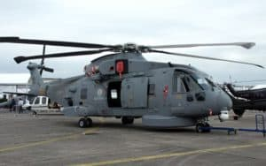 Agusta Westland AW101 Merlin grounded