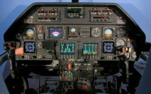 Agusta Westland AW109 LUH cockpit