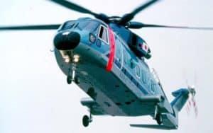 Agusta Westland AW101 VIP in the air