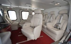 Agusta Westland AW101 VIP interior