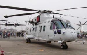 Agusta Westland AW101 VIP grounded