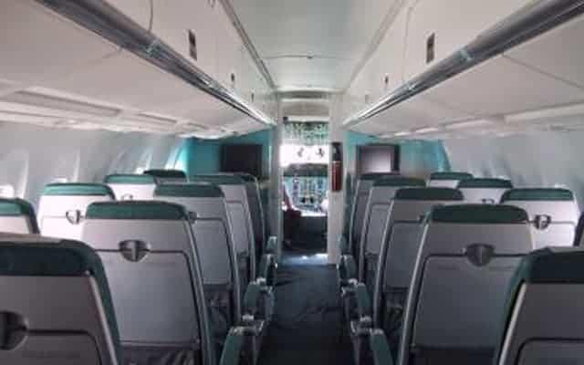 Antonov An-140 interior seating