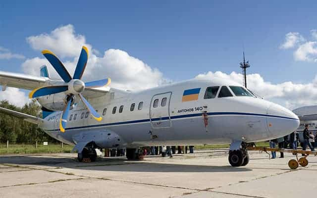 Antonov An-140 ready for take off