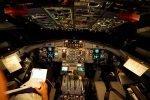 ATR 72-500 Flight Deck at night in flight