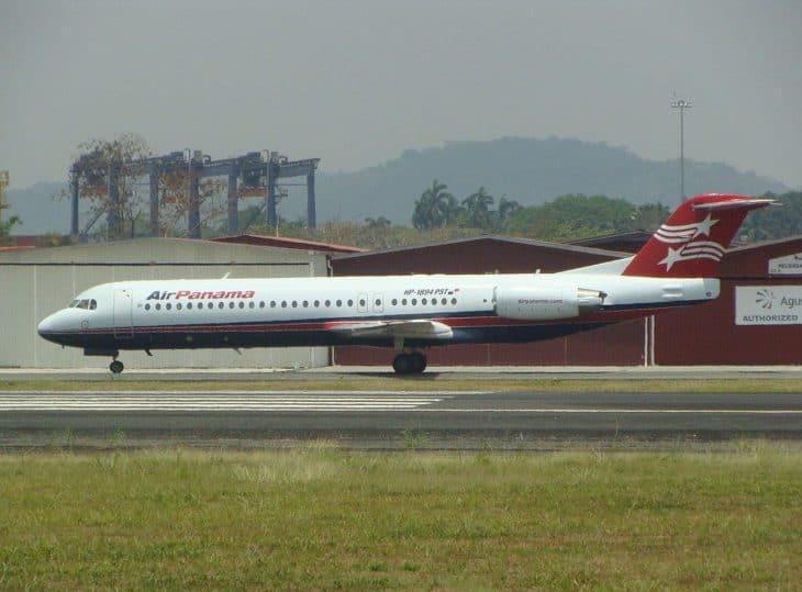 Air Panama Fokker 100