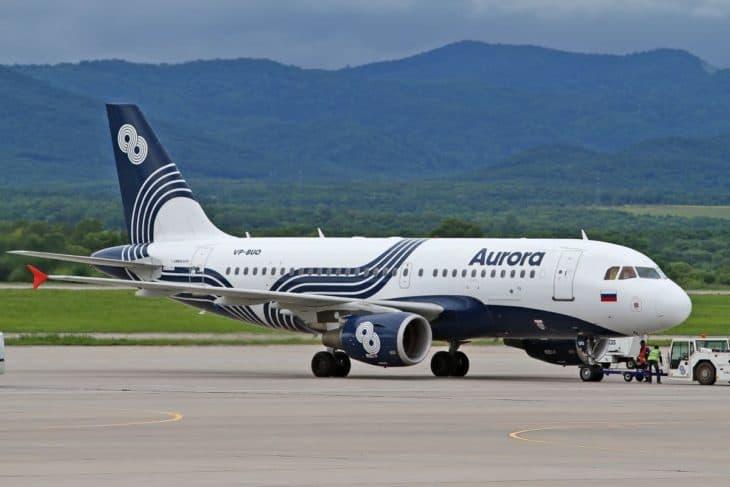 Airbus A319 - Aurora Airlines