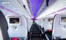 Airbus A319 interior cabin seating economy