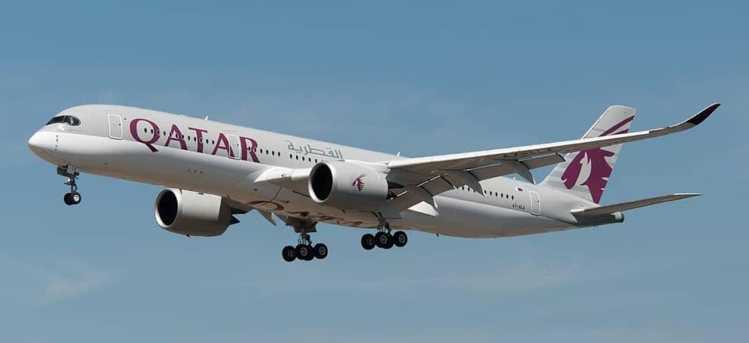 Airbus A350-900 - Qatar Airways