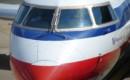 American Eagle CRJ 700 windshield