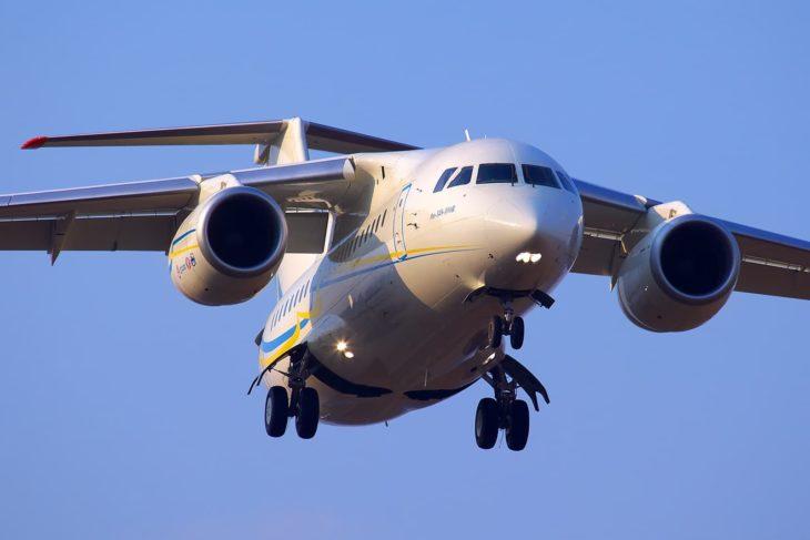 Antonov An-148 Landing