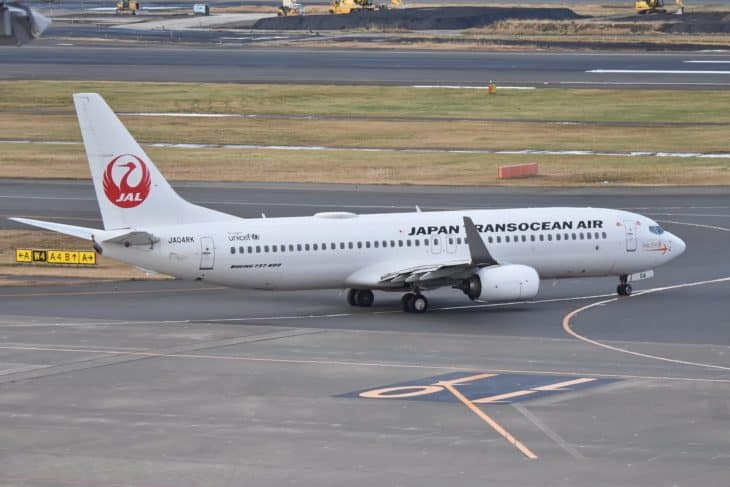 Boeing 737 800 Japan Transocean Air