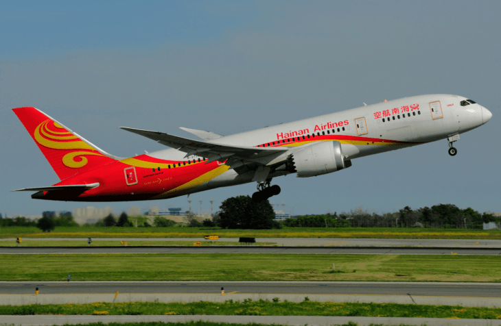 Boeing B 787 8 Hainan Airlines at Toronto Lester B. Pearson Airport