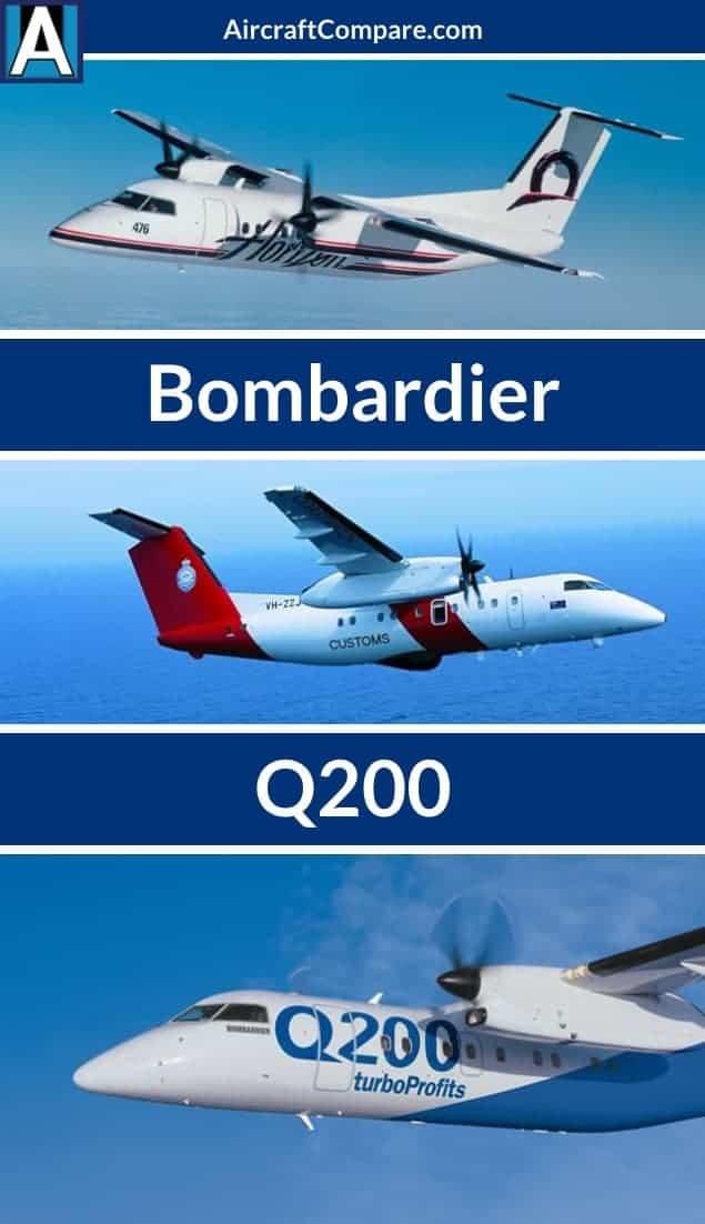Bombardier Q200 Pin