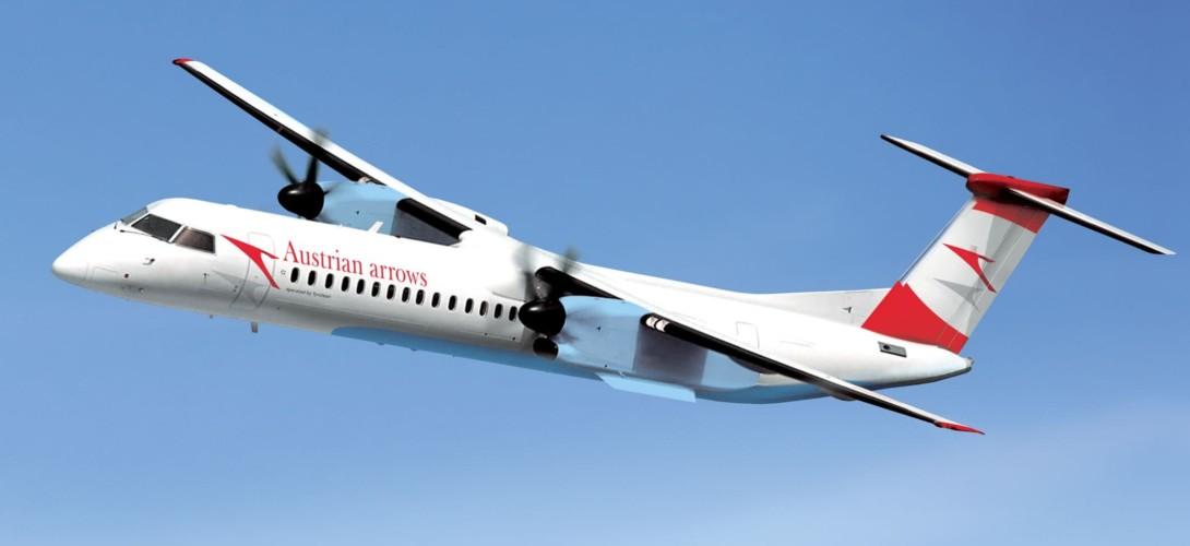 Bombardier Q400 austrian airways