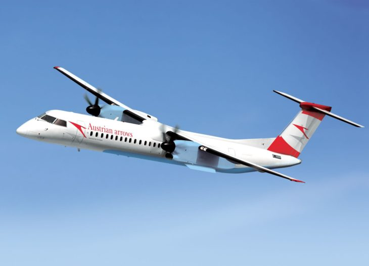 Bombardier Q400 austrian airways