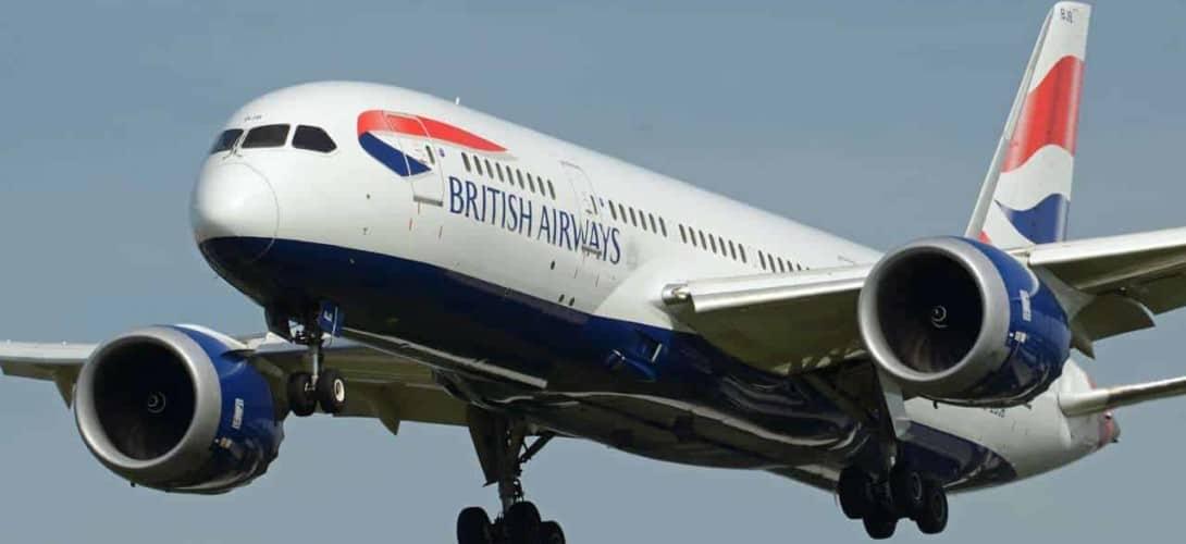 British Airways Boeing 787 8 Dreamliner Frontal