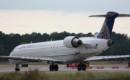 CRJ 700 United Express tail and apu