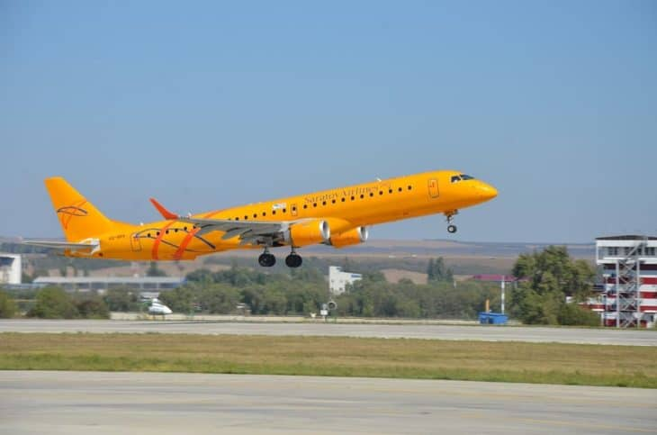 Embraer 190 Saratov Airlines