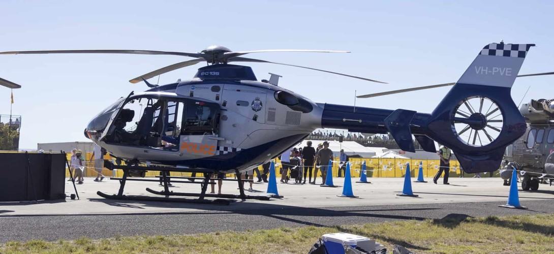 Eurocopter EC135 Helicopter Victoria Polica Australia