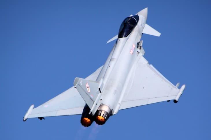 Eurofighter Typhoon RIAT 2013