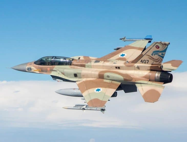Lockheed Martin F16 Fighting Falcon Israeli Air Force