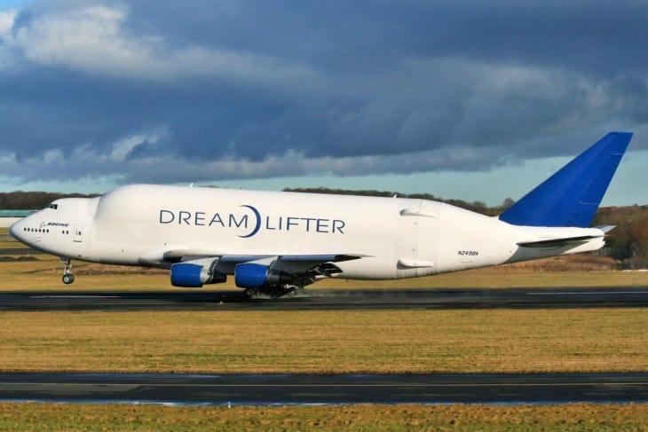 N249BA Boeing 747 409LCF Dreamlifter