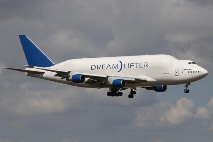 N747BC Boeing 747 4J6LCF Dreamlifter