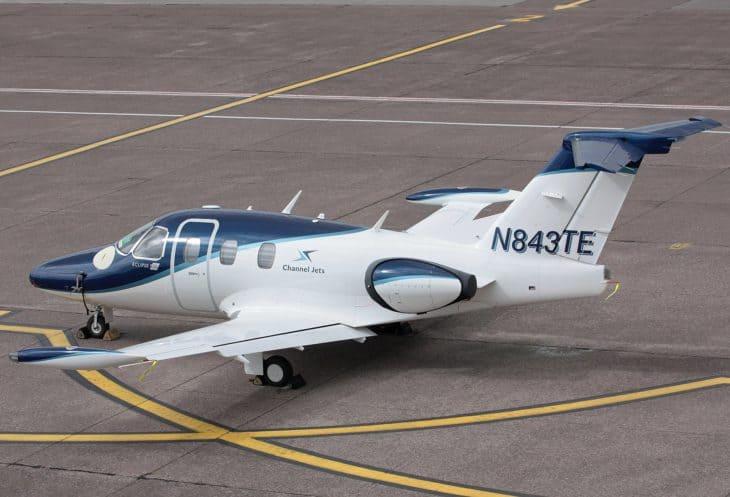 N843TE Eclipse EA 500 Channel Jets 2