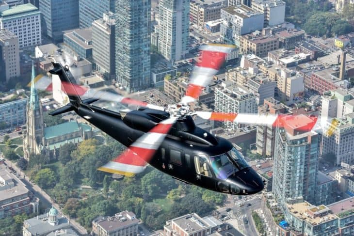 Sikorsky S 76D Executive Transport helicopter