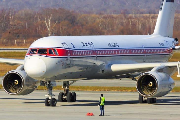 Tupolev Tu-204 - Air Koryo - Closeup