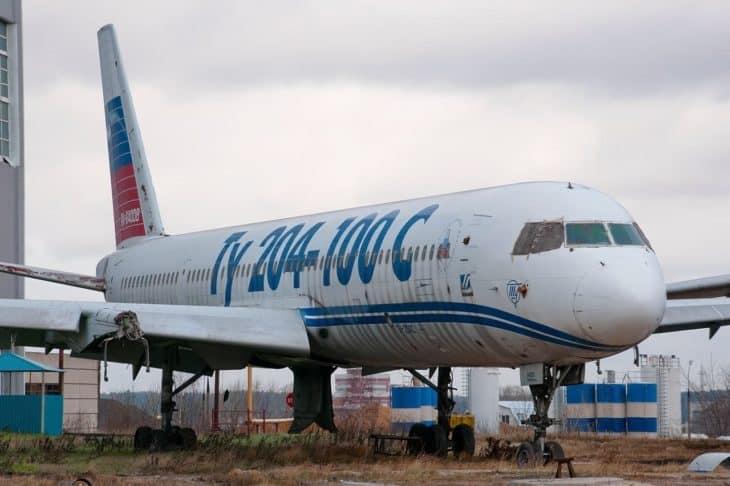 Tupolev Tu-204 - Wreckage - Airplane Graveyard