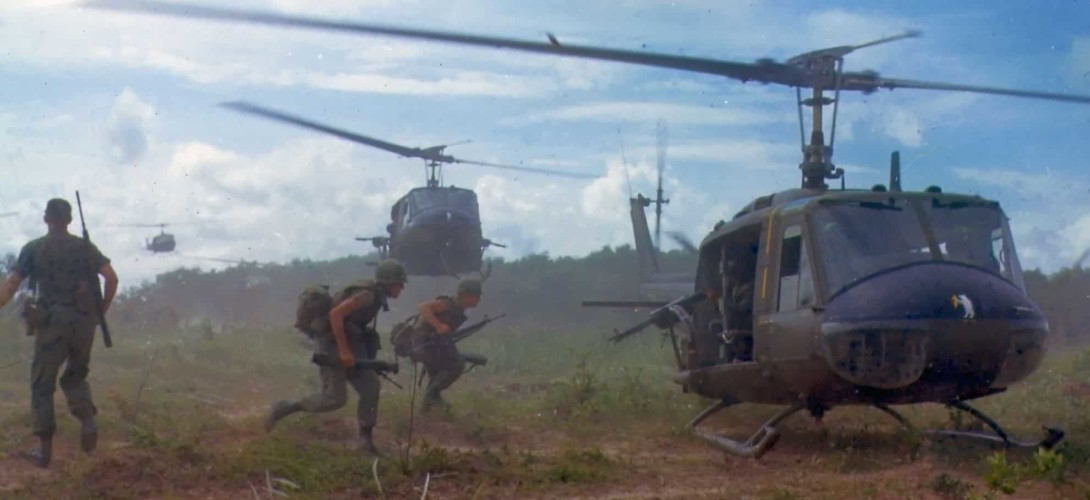 UH-1D helicopter in Vietnam 1966