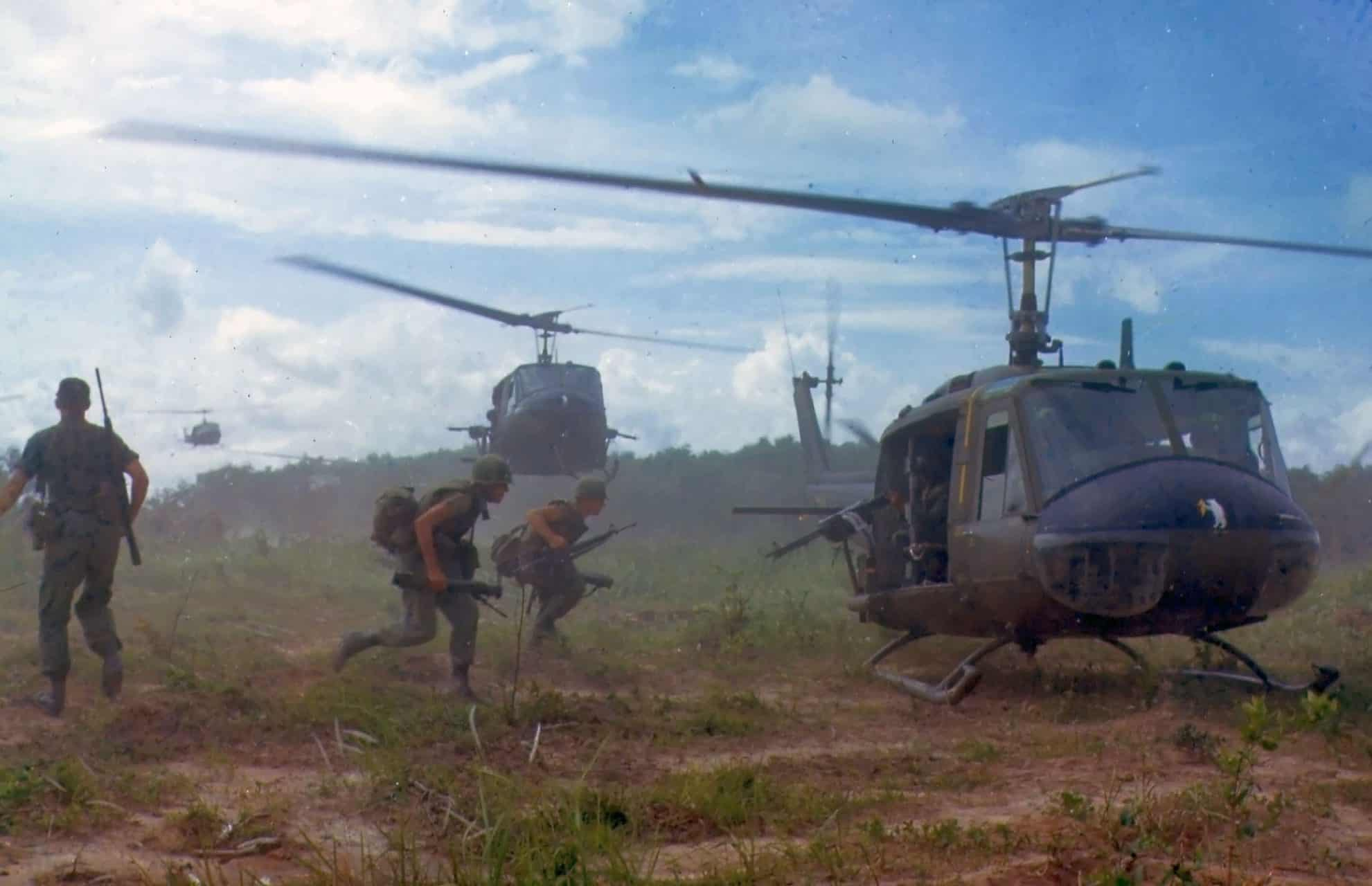 Types of Helicopters in the Vietnam War