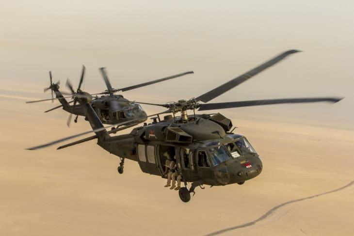 UH 60 Black Hawks