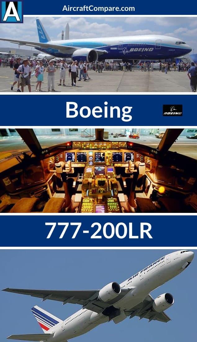 boeing 777-200lr pin