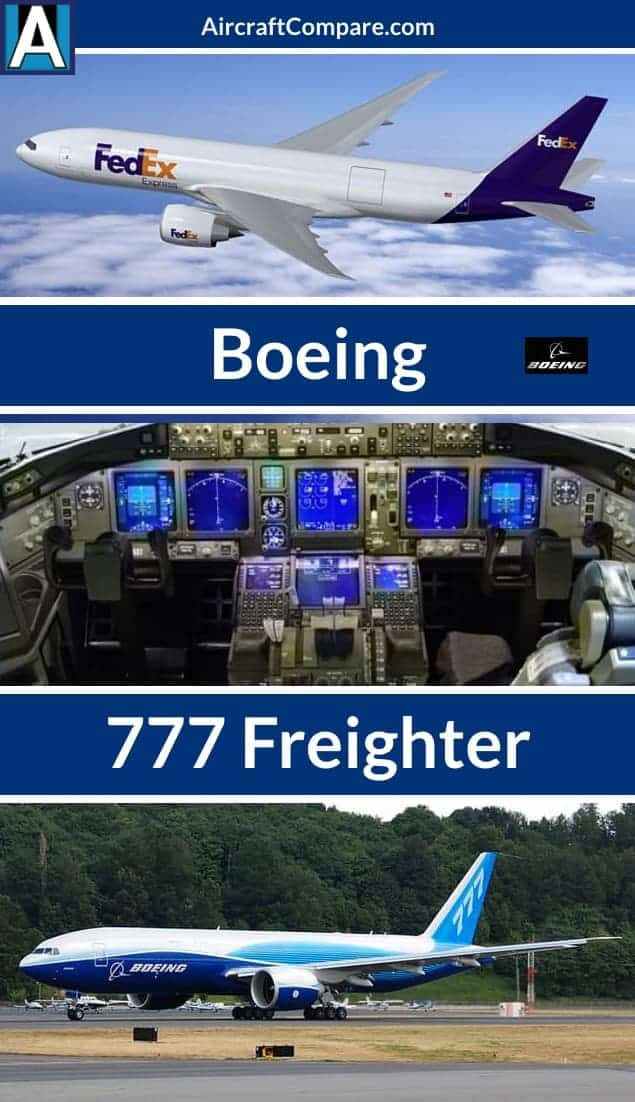 boeing 777 freighter pin