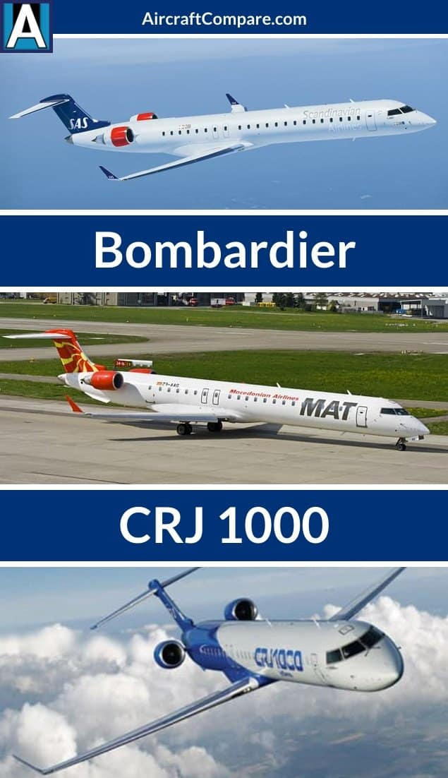 Bombardier CRJ 1000 - Price, Specs, Cost, Photos, Interior