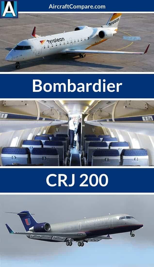 Bombardier CRJ 200 - Price, Specs, Cost, Photos, Interior