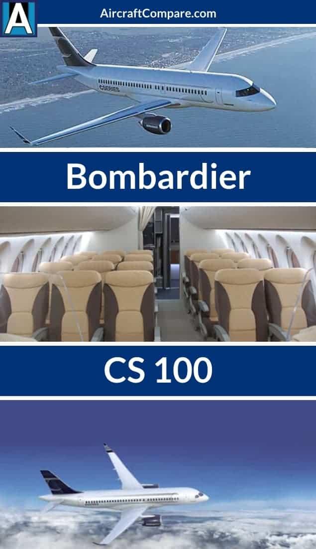 Bombardier cs100 Pinterest