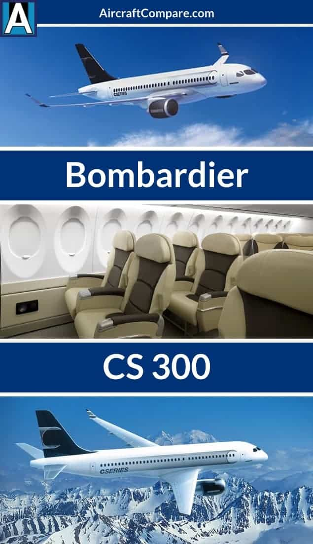 Bombardier cs300 Pinterest