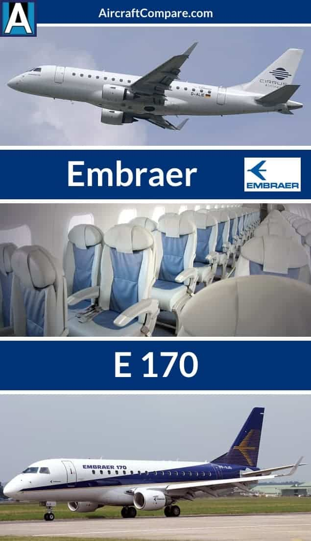 Embraer E 170 Pinterest