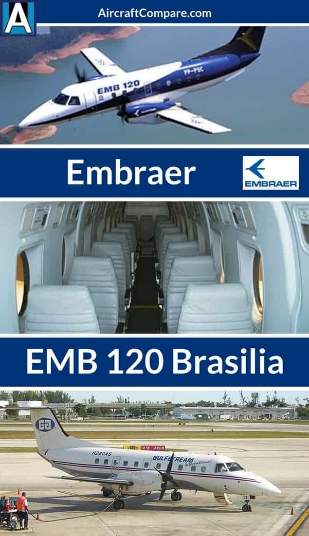 Embraer emb 120 brasilia Pinterest