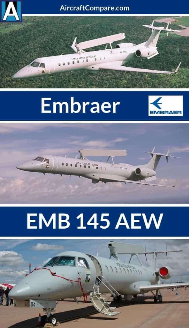 Embraer emb 145 aew Pinterest